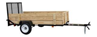 CARRY-ON 4X8 WOODY utility trailer