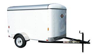 Dark Blue CARRY-ON 5X8 CGEC enclosed cargo trailer in GA