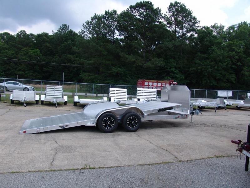 2018 Aluma 8218 tilt Car / Racing Trailer