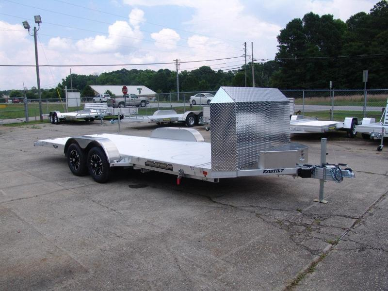 2018 Aluma 8218 tilt Car / Racing Trailer in Iva, SC