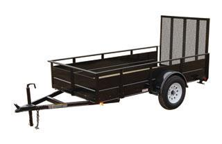 CARRY-ON 5X10 SSG2K utility trailer with solid sides in Roopville, GA