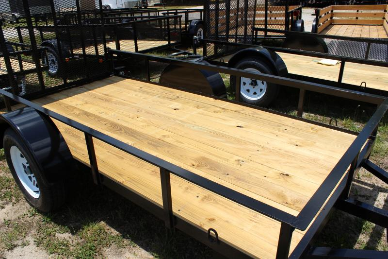 2016 Other Horton 5x10 Landscaping Trailer with Wood Flooring Utility Trailer