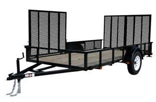 CARRY-ON 6X12 GWATV utility or atv trailer in Sharpsburg, GA