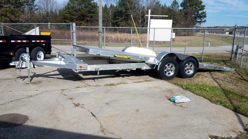 2019 Aluma 8220 tilt Car / Racing Trailer in Iva, SC