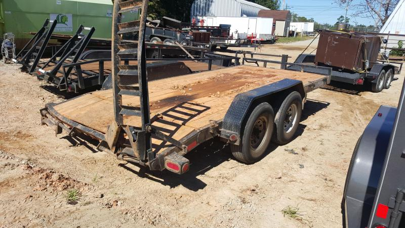 2015 Load Trail 16ft Equipment Trailer