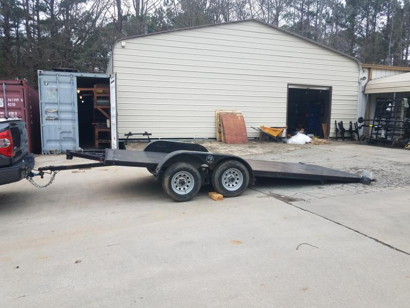 2013 Kwik Load 7x18 roll back tilt Car / Racing Trailer