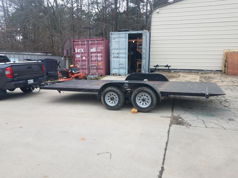 2013 Kwik Load 7x18 roll back tilt Car / Racing Trailer in Iva, SC