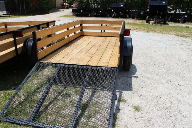 2016 Other TowPro Landscaping Trailer With Wooden Sides Utility Trailer