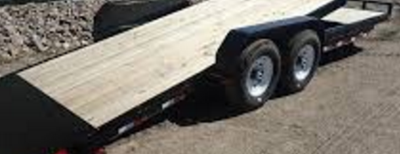 2018 PJ Trailers 25' Classic Flatdeck with Duals Trailer