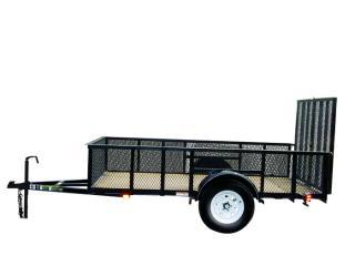 CARRY-ON 6X10 GWHS flatbed utility trailer with high sides in Ashburn, VA
