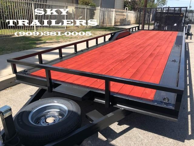 2019 SKY 81/2 X 28  Buggy trailer with split gate