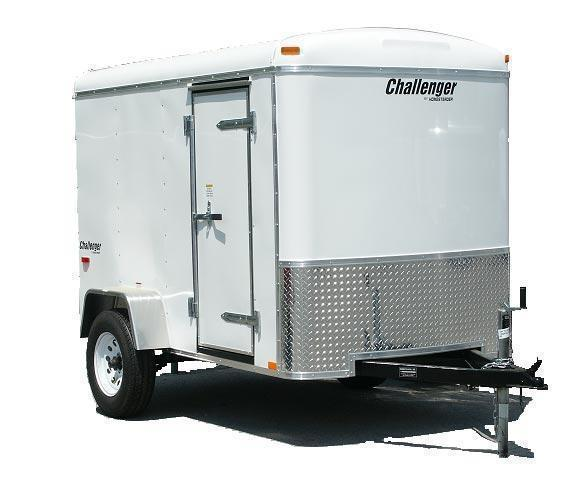 2018 Homesteader 5x10 Enclosed Cargo Trailer W/ Ramp door
