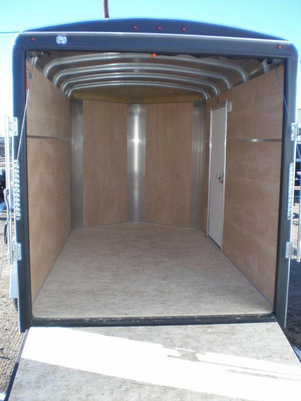 2018 H and H Trailer 6X10 Enclosed Cargo Trailer W/V-Nose