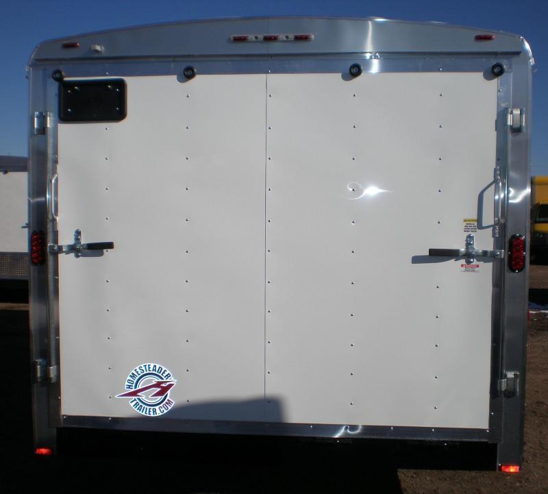 2019 Homesteader 8x16 Enclosed Cargo Trailer 10K