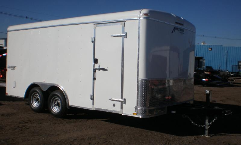 2019 Homesteader 8x16 Enclosed Cargo Trailer 10K