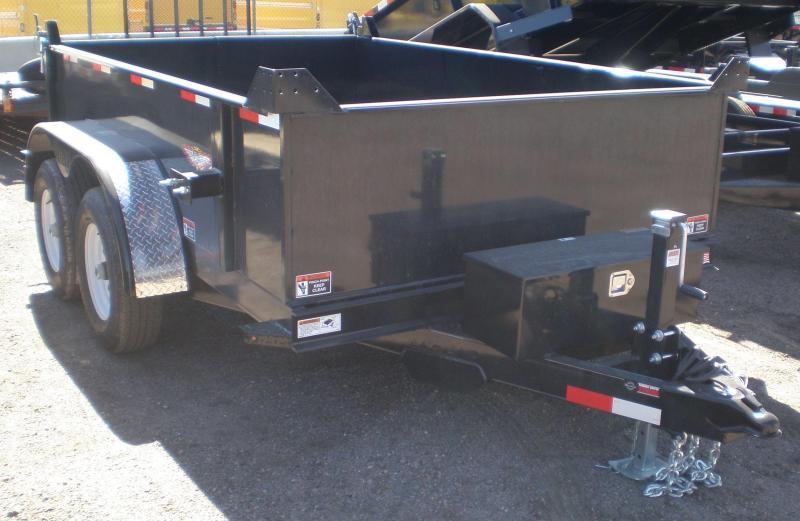 2020 H&H 76x10 Dump Trailer 10K w/Tarp