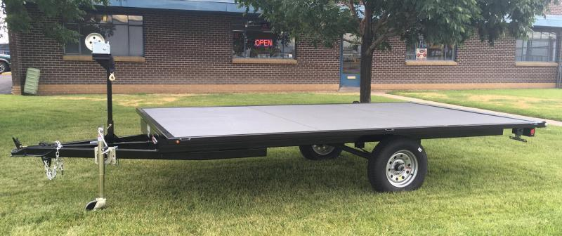 2019 7x14 Raft Trailer w/ Under storage