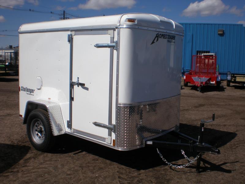 2020 Homesteader 5x8 Enclosed Cargo Trailer W/ Ramp Door