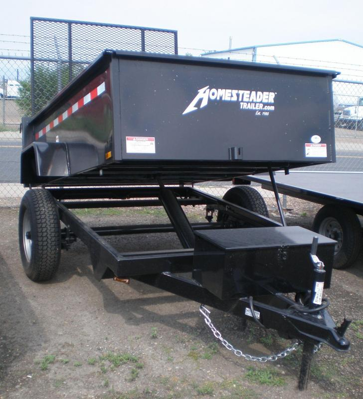 2017 Homesteader 5x8 Dump Trailer