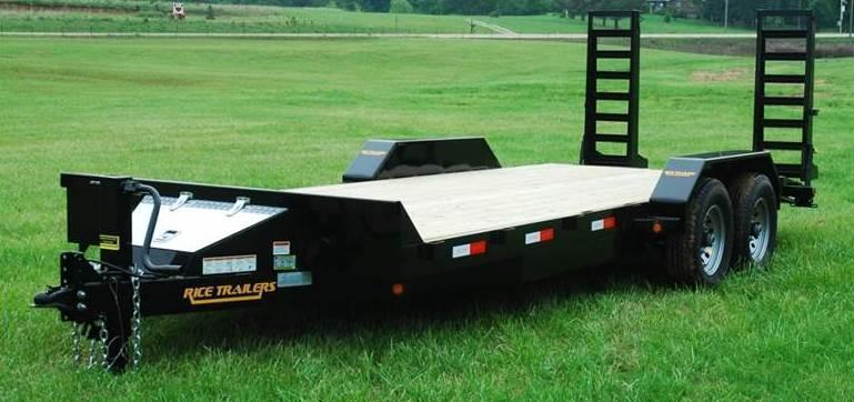 2018 Rice FMEHR 82x20 Flatbed Equipment Trailer