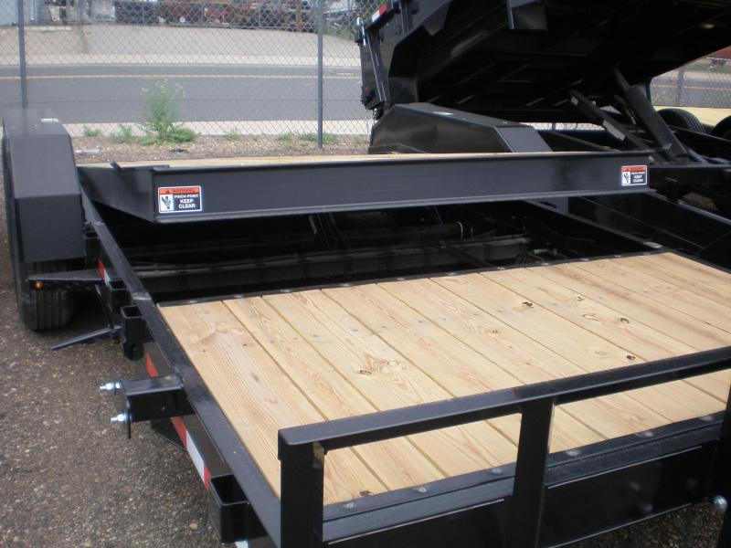2019 H&H 82X20 PARTIAL TILT Flatbed Trailer 14K