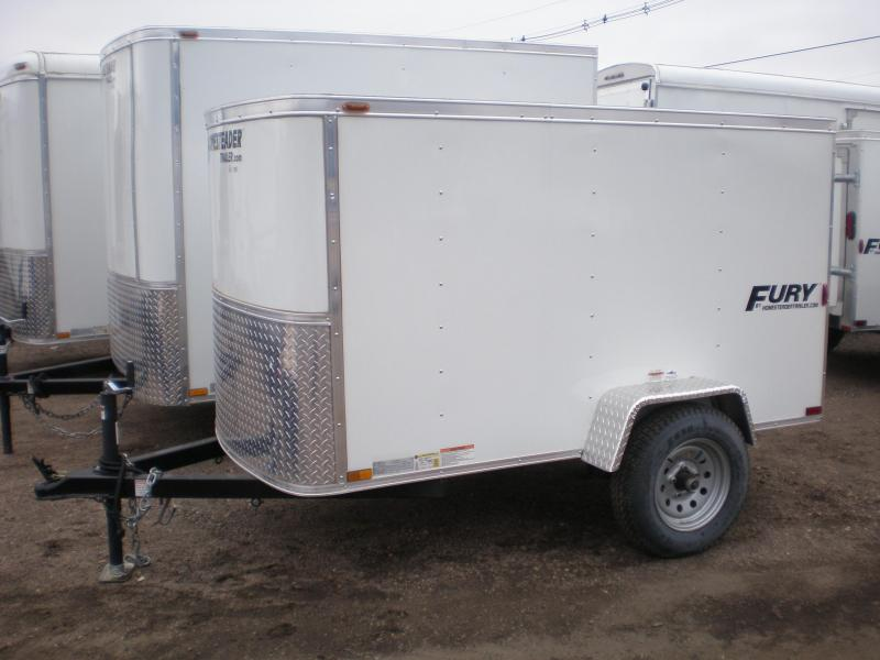 "2018 Homesteader 4x8 ""Fury"" Enclosed Cargo Trailer"