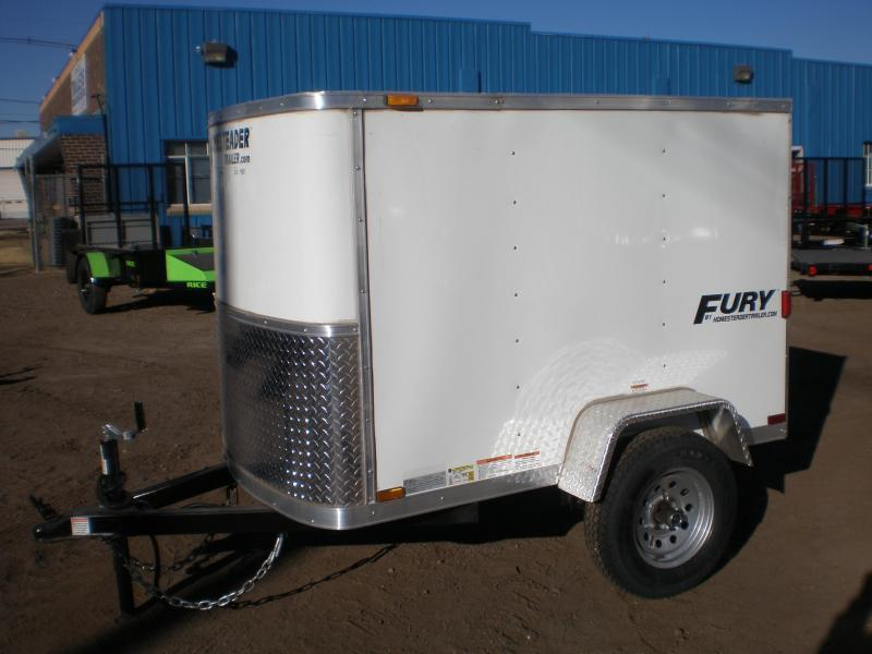 2020 Homesteader 4x8 Enclosed Cargo Trailer
