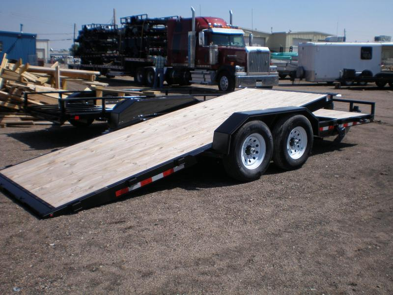 2019 H&H 82X22' PARTIAL TILT Flatbed Trailer 14K