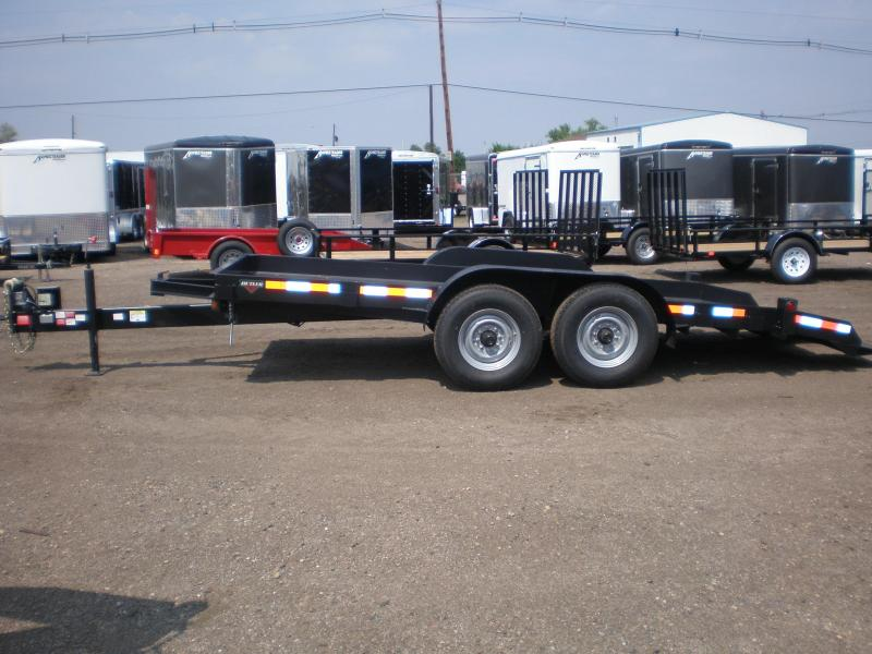 2019 Butler Tilt Flatbed Equipment Transport Trailer 14K