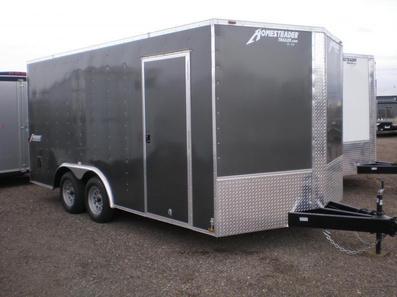 2018 Homesteader 8x16 Enclosed V-Nose Cargo Trailer