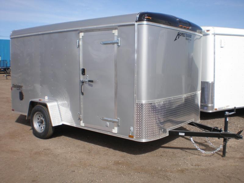 2019 Homesteader 7x12 Enclosed Cargo Trailer w/Brakes