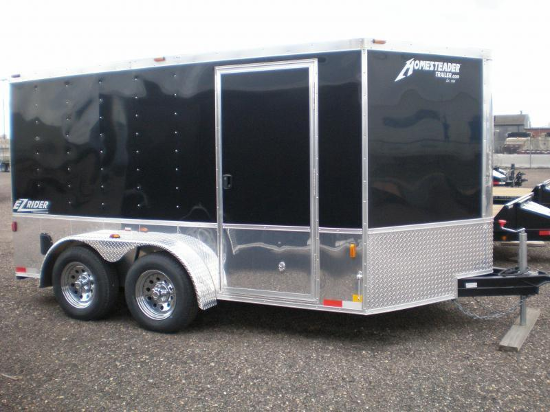 2018 Homesteader 7x14 EZ Rider Enclosed Motorcycle Trailer