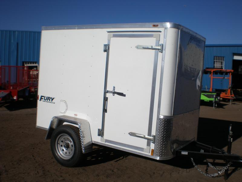 "2018 Homesteader 5x8 ""Fury"" Enclosed Cargo Trailer"