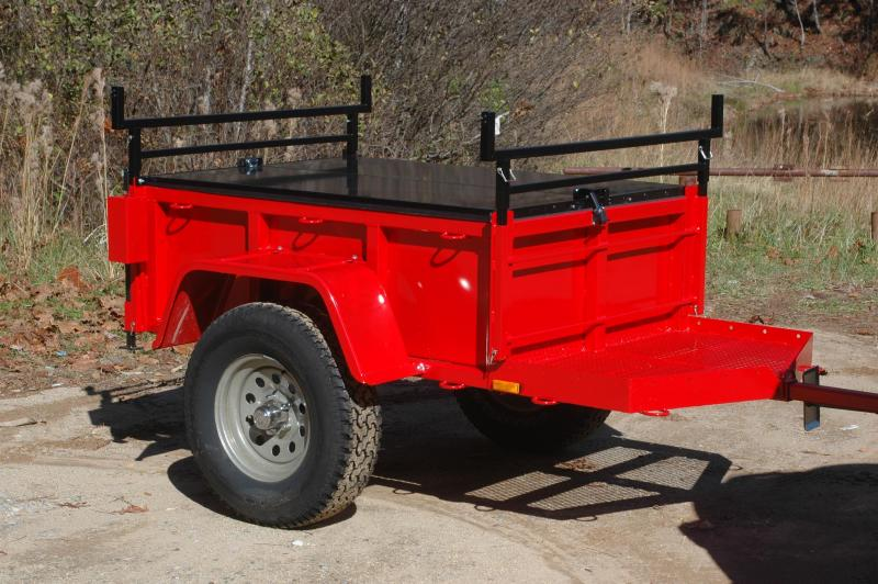 2018 Morris Mule Trail Grade 3x5 - Red w/Black Fenders