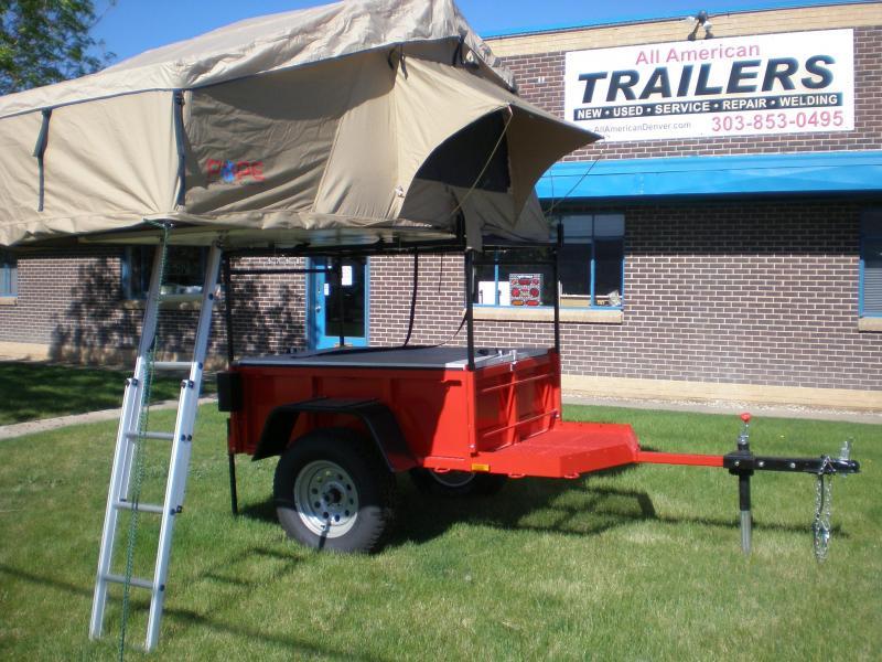 2018 Morris Mule Trail Grade 3x5 - Red w/Black Fenders