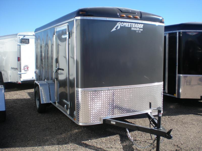 2019 Homesteader 6x12 Enclosed Cargo Trailer