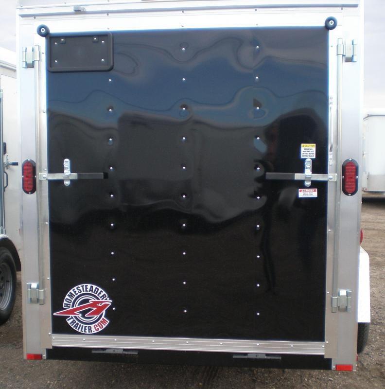 2019 Homesteader 6x12 Enclosed Cargo Trailer - V Nose