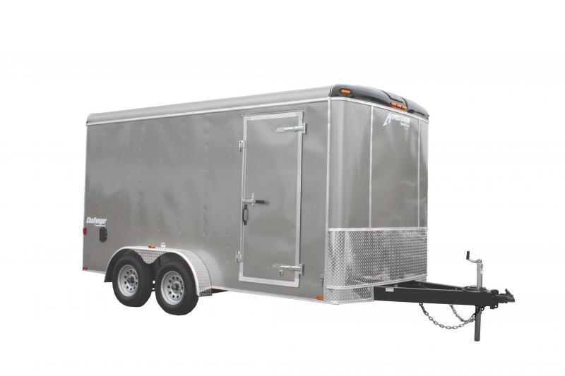 2018 Homesteader 7x14 Enclosed Cargo Trailer Double Doors