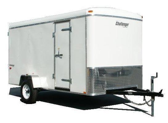 2019 Homesteader 6x12 Enclosed Cargo Trailer Double Doors