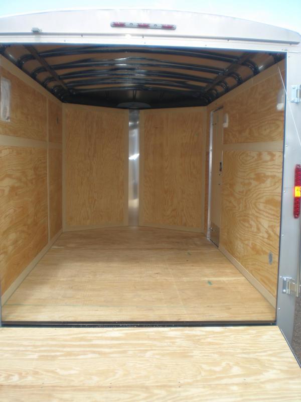 2020 Homesteader 7x12 Enclosed Cargo Trailer V-Nose