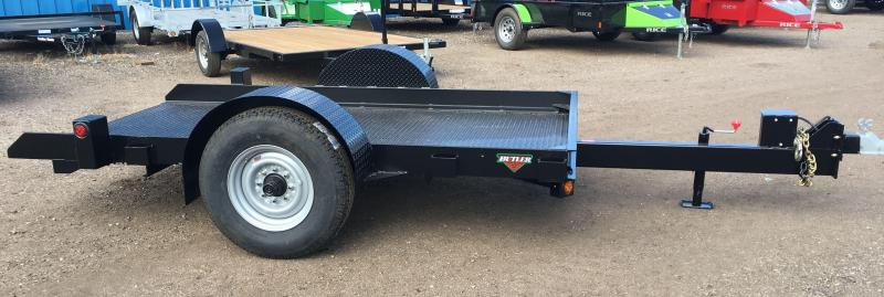 2019 Butler Tilt Flatbed Equipment Transport Trailer 7K Axle