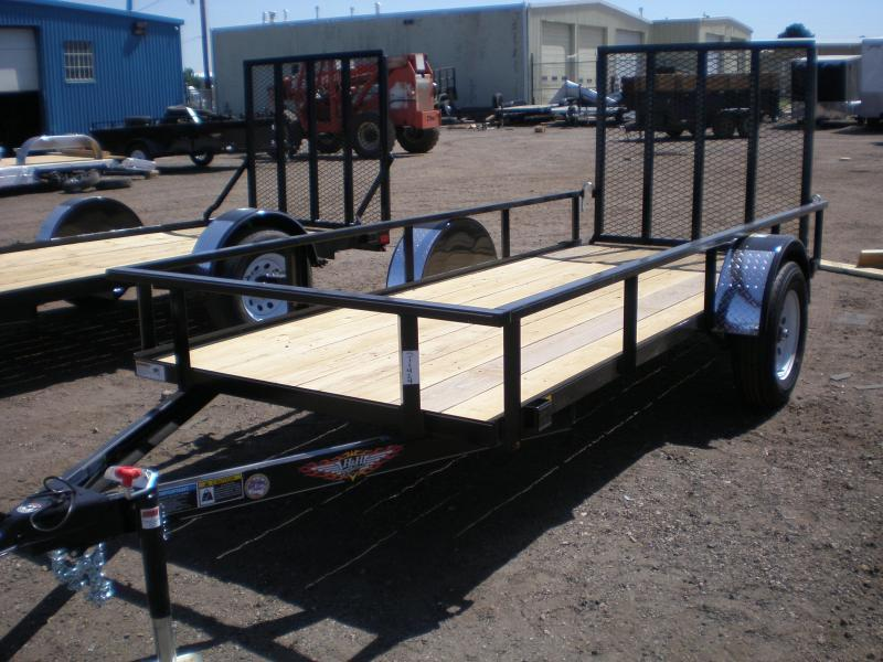 2018 H and H Trailer 2018 HH 5x12 Utility Utility Trailer