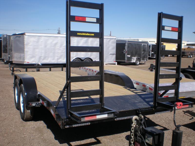 2019 H&H 82X20 Flatbed Equipment Trailer 14K