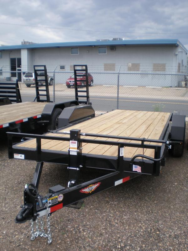 2018 H&H 82X20 PARTIAL TILT Flatbed Trailer 14K