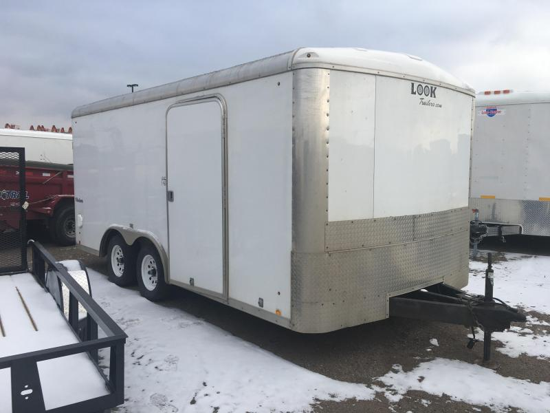 2013 Look Trailers 816 TANDEM Enclosed Cargo Trailer