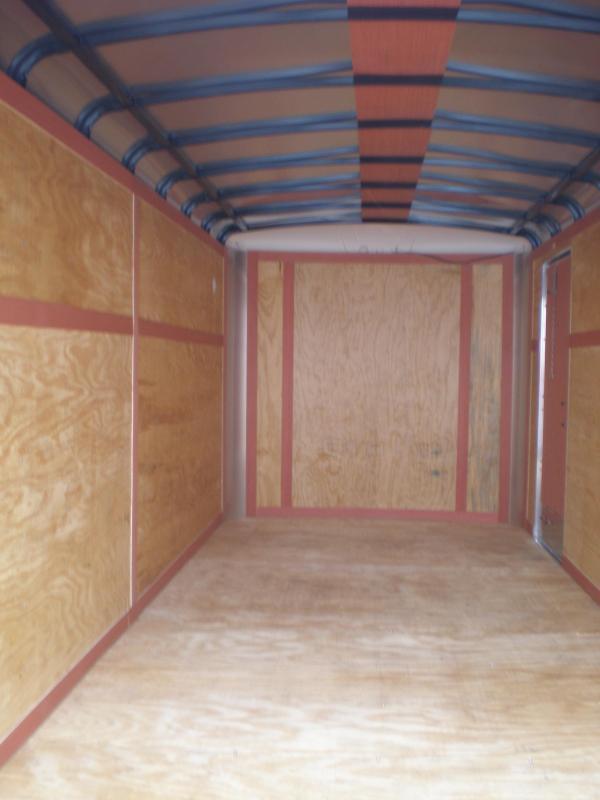 2019 Homesteader 7x16 Enclosed Cargo Trailer W/Ramp Door