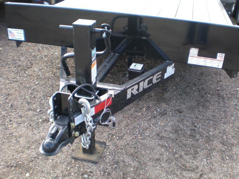 2019 Rice 82x20 HD Flatbed Equipment Trailer 10K