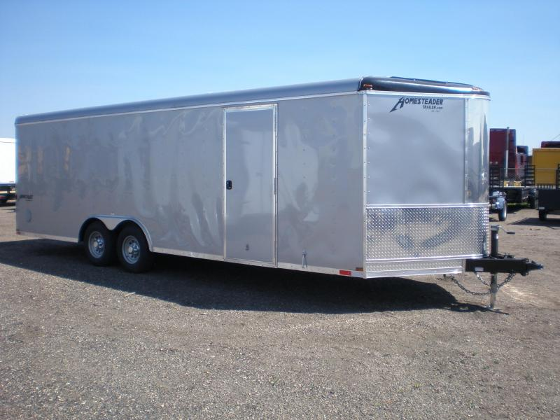 2019 Homesteader 24' Enclosed Car Hauler/Cargo Trailer