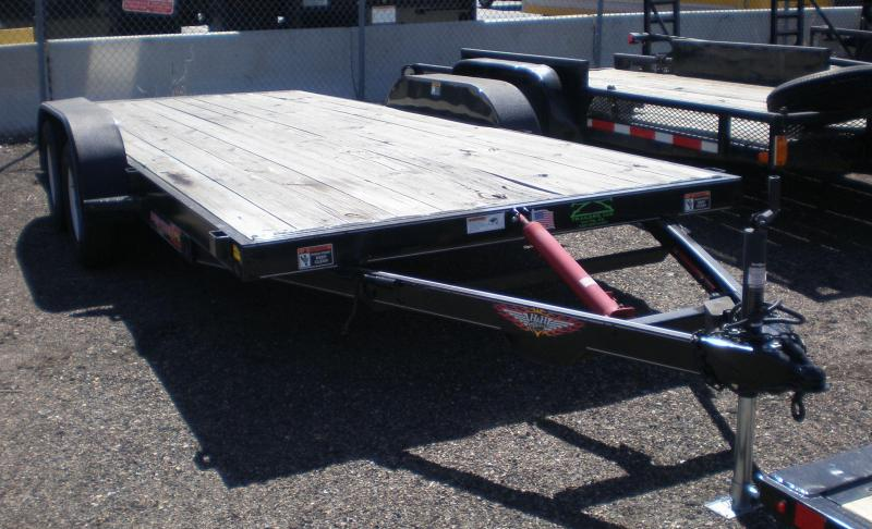 2016 H and H Trailer 18 SpeedLoader Flatbed Trailer