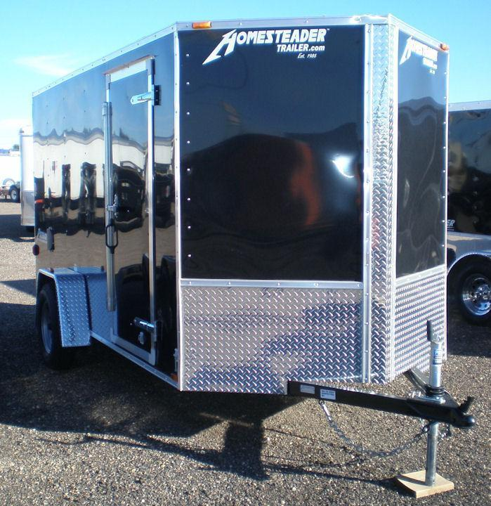 2019 Homesteader 6x10 Enclosed Cargo Trailer - V Nose